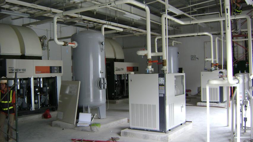 Hệ thống khí nén công nghiệp