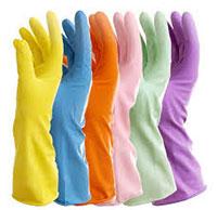 Găng tay bảo hộ cao su