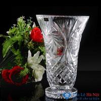 Bình hoa pha lê