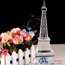 Pha lê mô hình tháp Eiffel