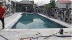 Dự án hồ bơi nhà Mr Đức Long An
