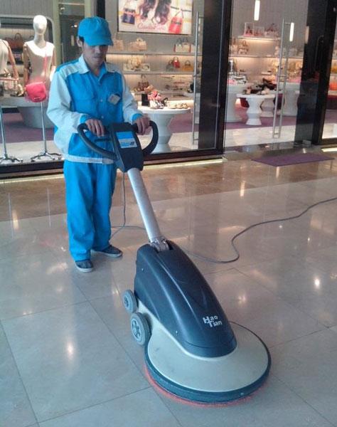 Bảo trì chà bóng sàn gạch