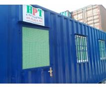 Container 20 feet văn phòng có toilet