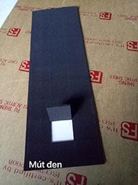 Mút đen vuông