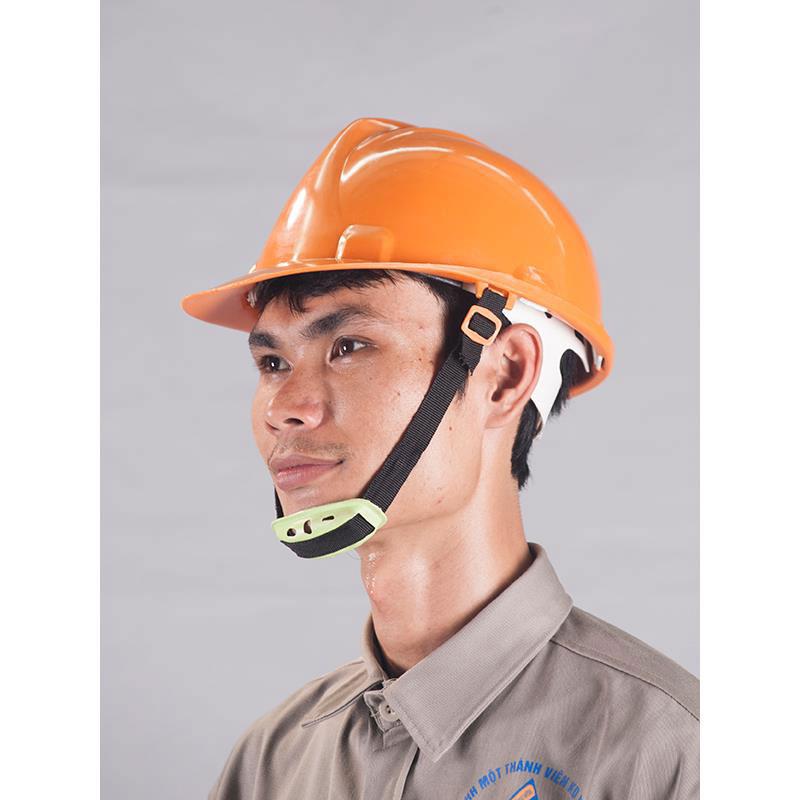 Mũ bảo hộ nhựa cam Việt Nam
