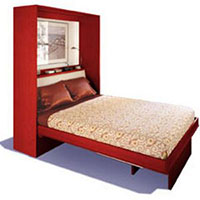 Multifunction Bed Red