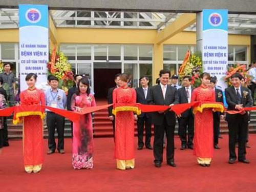 Bệnh viện K Hà Nội - Cơ sở Tân Triều