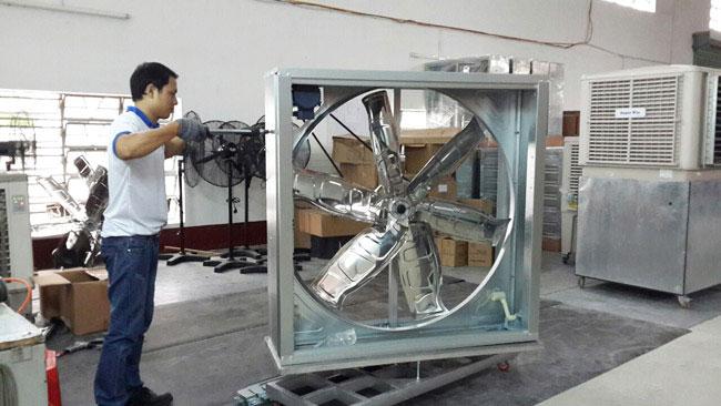 sửa chữa hệ thống quạt thông gió