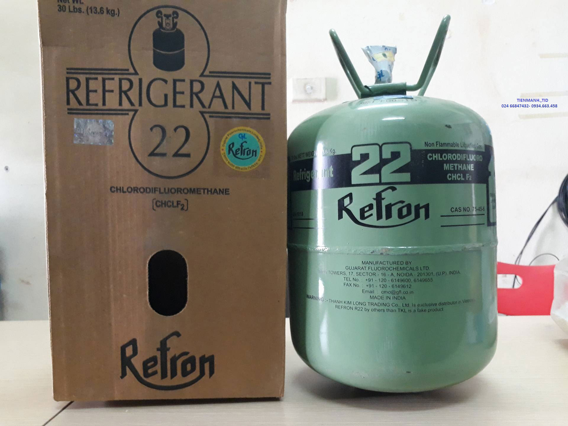 R22 Refron ấn