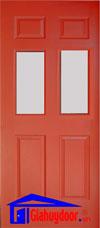 Cửa gỗ công nghiệp HDF GHD-6G2-C10