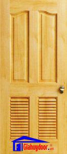 Cửa gỗ tự nhiên SGD-GTN-04L2