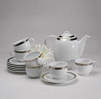 Bộ ly tách trà gốm sứ