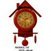 Đồng hồ treo tường gỗ