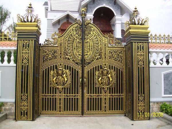 Sơn cổng