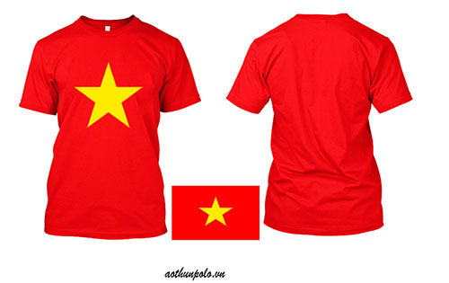 Áo thun cờ đỏ sao vàng truyền thống