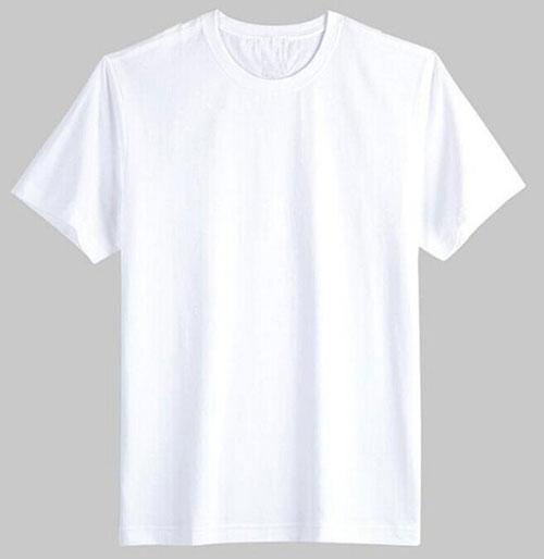 Áo thun trắng cotton