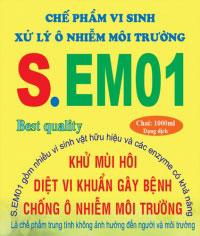 Chế phẩm vi sinh xử lý ô nhiễm S.EM01