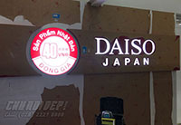 Thi công logo Daiso Japan