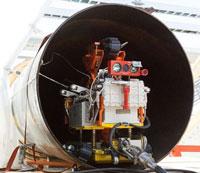 Robot kiểm tra đường ống dẫn dầu