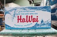 Nước uống đóng thùng Hawai