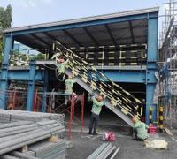 Tháo lắp nhà xe công ty Wonderfull VISP1