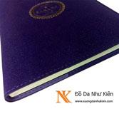 Sổ tay bìa da NK