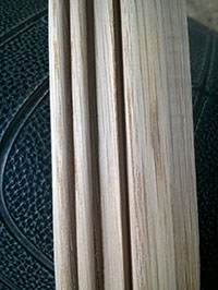 Phào chỉ gỗ tần bì