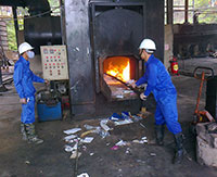 Thu gom xử lý chất thải nguy hại