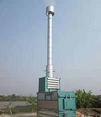 Lò đốt rác thải sinh hoạt Losiho 100