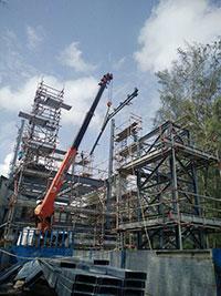 Chế tạo nhà giữ xe kết cấu thép