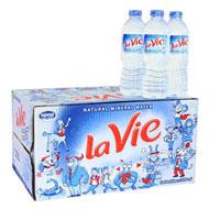 Thùng nước khoáng Lavie 24 chai 500ml