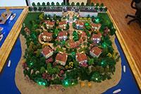 Mô hình sa bàn khu nghỉ dưỡng