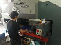 Đột gia công trên máy CNC
