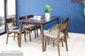 Set bàn ăn Marible Walnut