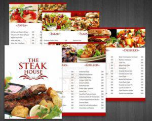 In nhanh menu