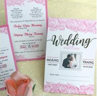 In thiệp cưới