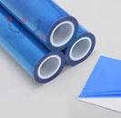 Màng PE bảo vệ bề mặt màu xanh