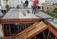 Thi công nhà mái Thái