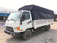Ô tô tải thùng khung mui