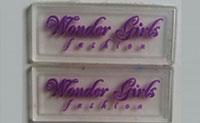 Logo nhựa dẻo ngành may