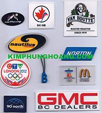 Vật phẩm quảng cáo logo nhựa dẻo