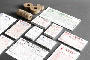In ấn hóa đơn