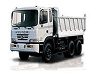 Xe tải Hyundai thùng ben