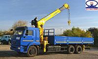 Xe tải cẩu Kamaz 13.2 tấn