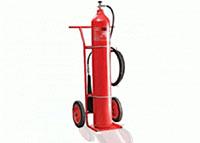 Bình chữa cháy CO2 xe đẩy