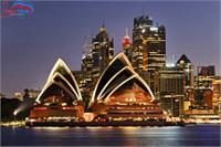Tour du lịch châu Úc