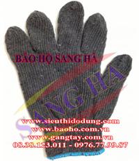 Găng tay màu đen