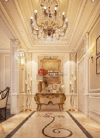 Trang trí nội thất sảnh cổ điển