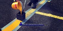 Thi công sơn vạch kẻ đường giao thông