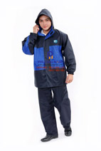 Bộ áo mưa 2 lớp cao cấp